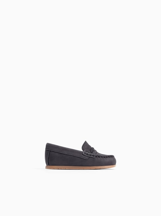 Leather Loafers  Shoes And Sandals Shoes Baby Boy by Zara