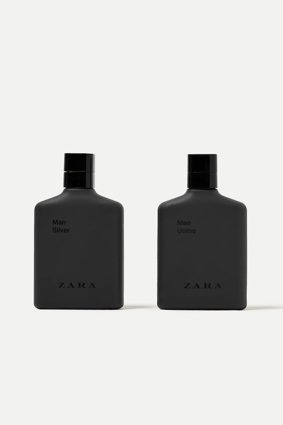 636ab371 MAN UOMO 100 ML + MAN SILVER 100 ML - Perfumes-BASICS-MAN | ZARA Spain