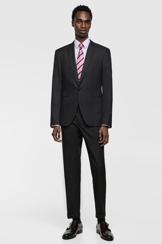 Mens Suits New Collection Online Zara United States