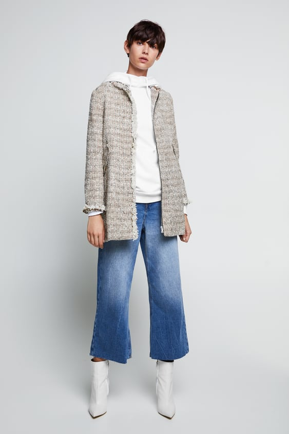 Tweed Coat  Coats Coats Woman by Zara
