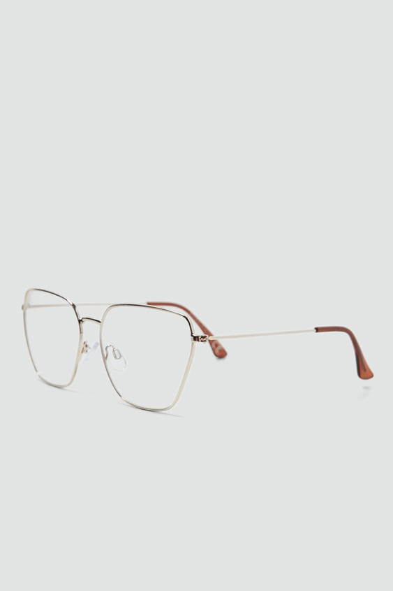 METAL FRAME GLASSES - View all-ACCESSORIES-WOMAN | ZARA South Africa
