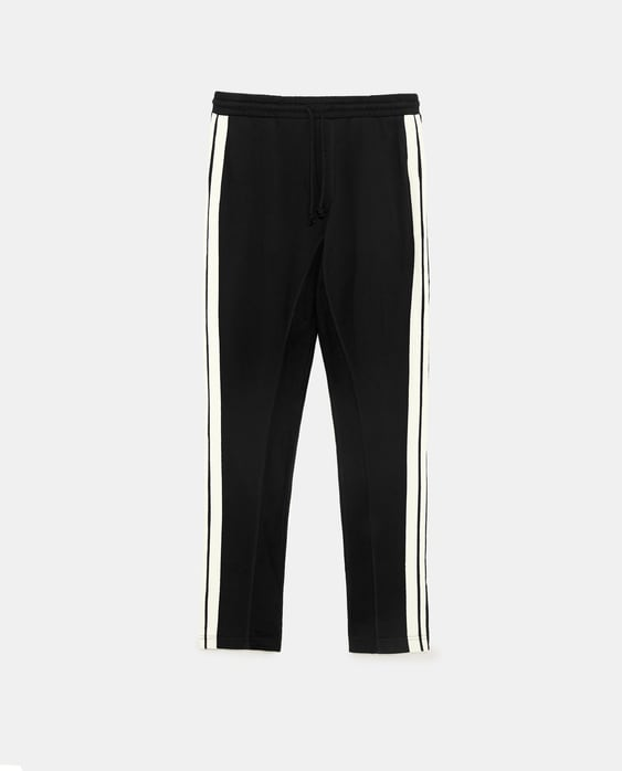 27955f83 JOGGING TROUSERS WITH SIDE STRIPES - PANTS-TRF-SALE | ZARA New Zealand