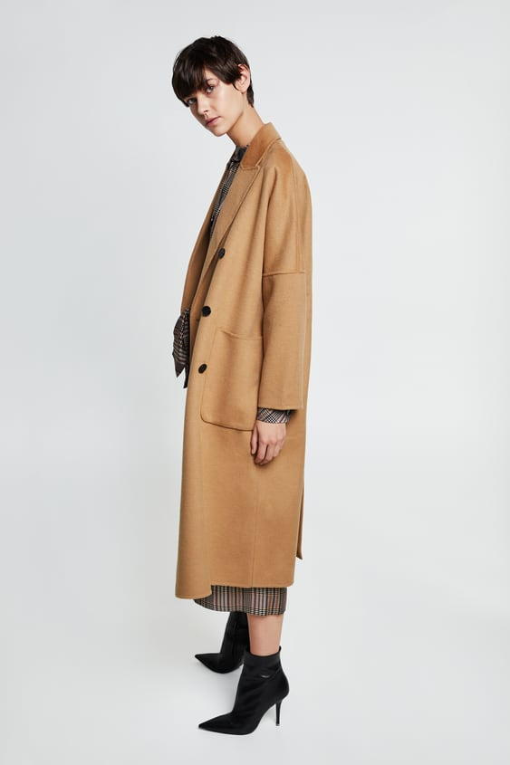 durable in use better price for luxury aesthetic OVERSIZED DOUBLE - BREASTED COAT-- | ZARA Italy