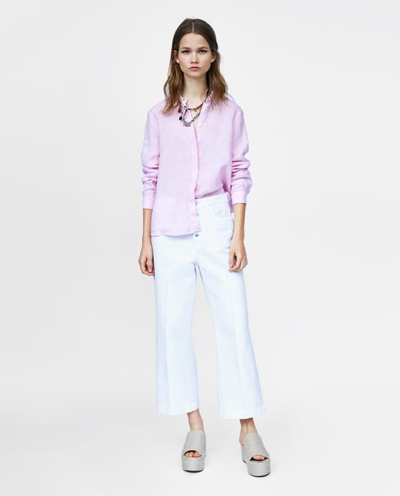 1cd0413dfe STRIPED LINEN SHIRT TopsMUST HAVE-SALE-WOMAN