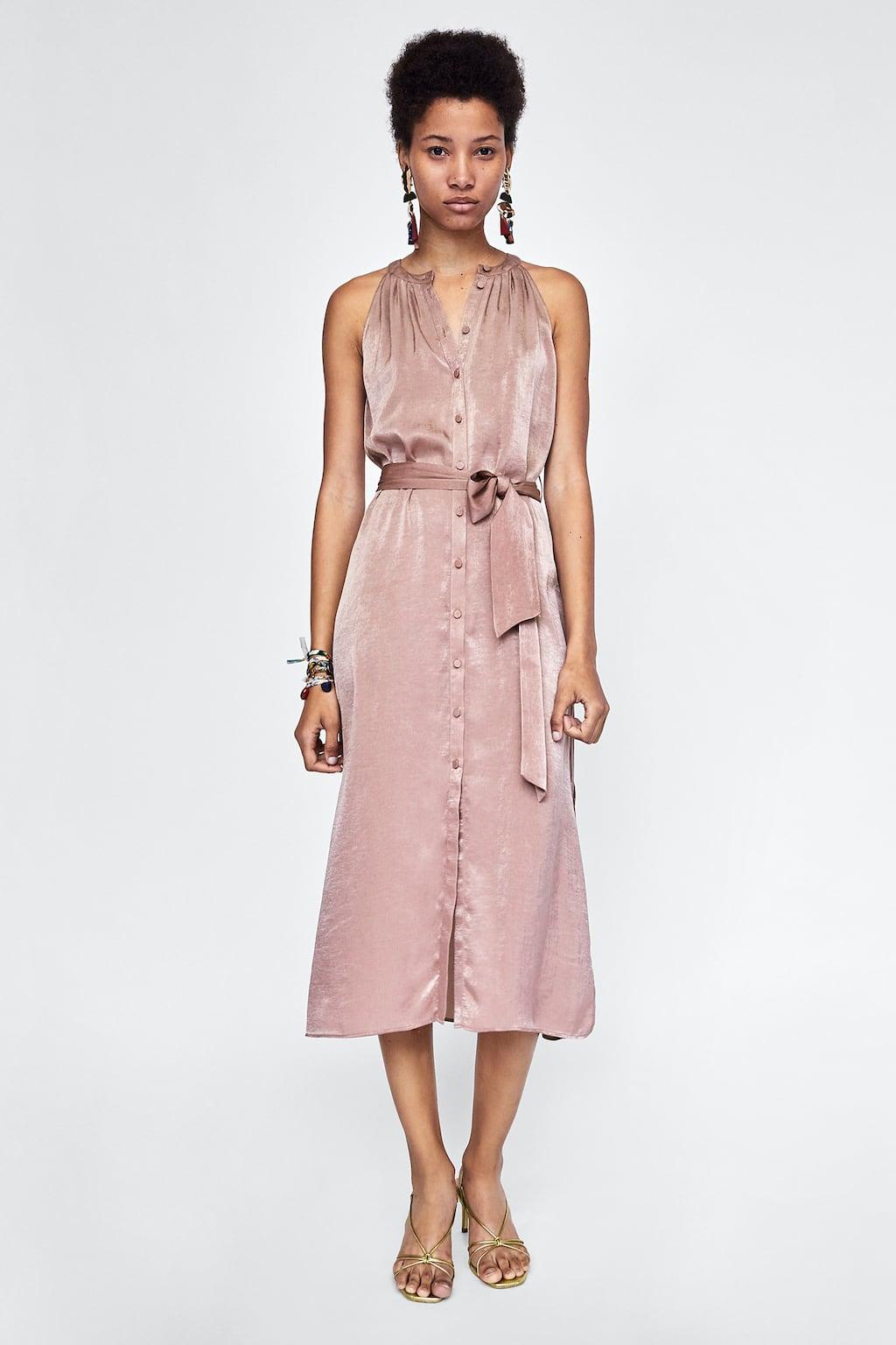 SATEEN DRESS - DRESSES-SALE-WOMAN | ZARA United Kingdom