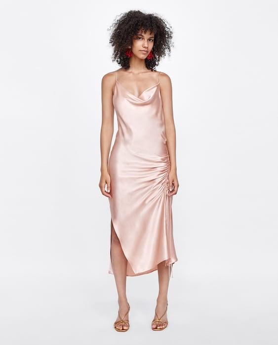 0f3afa0c Shoptagr | Draped Camisole Dress Collectionsale Woman by Zara