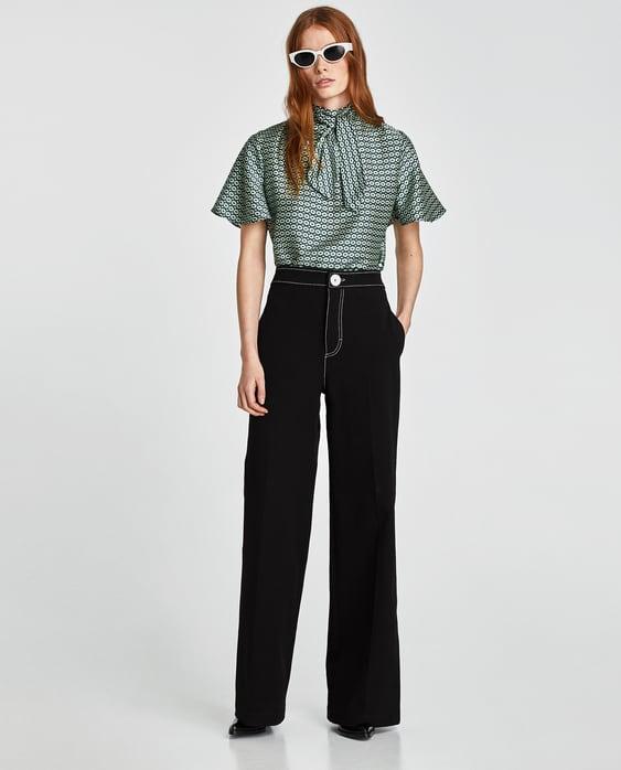nouveau design gamme exclusive Prix usine 2019 Shoptagr | Blouse Tie &Amp; Dye Robessoldes Femme by Zara