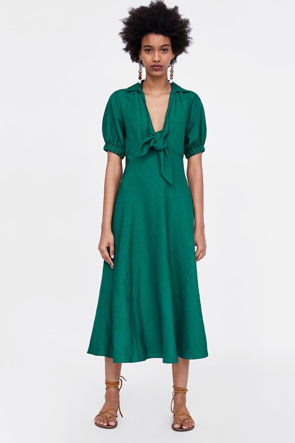 b879263a Green Tops Zara