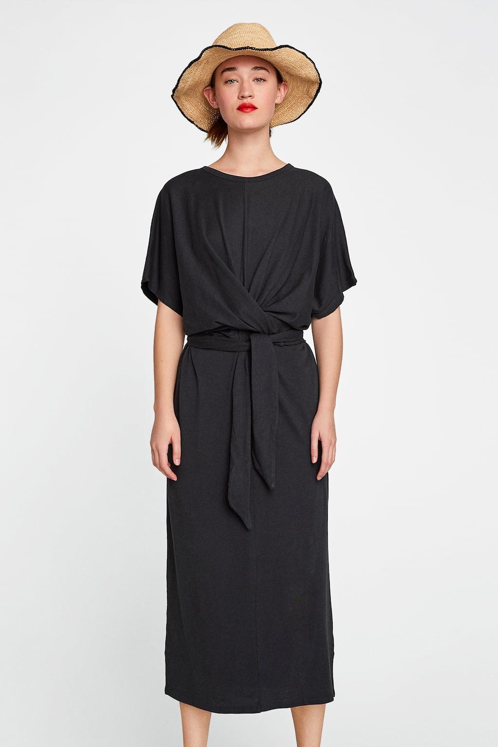 LONG DRESS WITH KNOT - DRESSES-SALE-WOMAN | ZARA United Kingdom