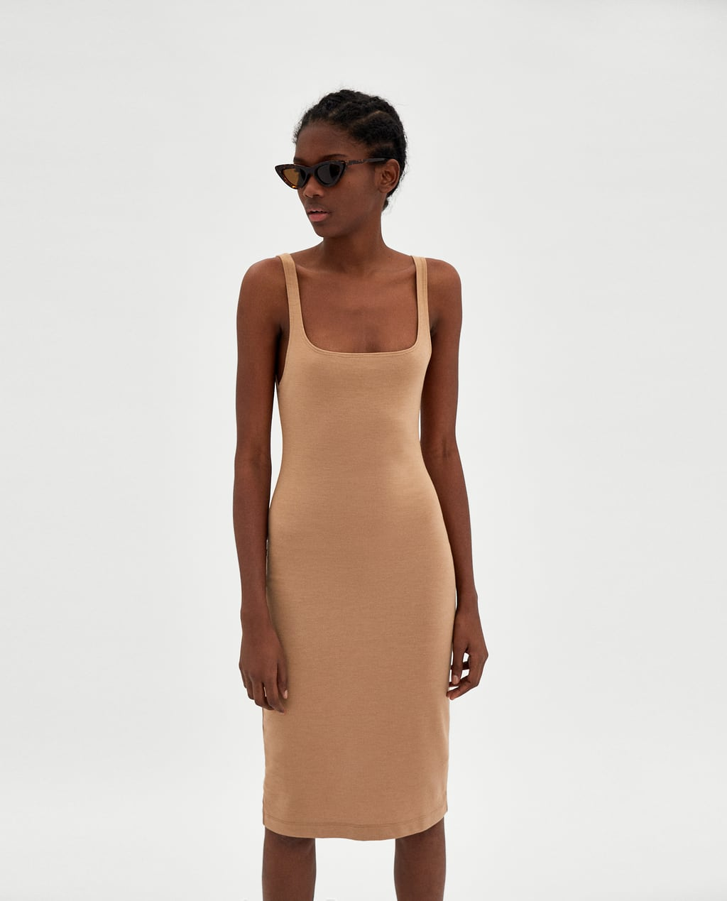 Image 1 of BASIC SLEEVELESS DRESS from Zara