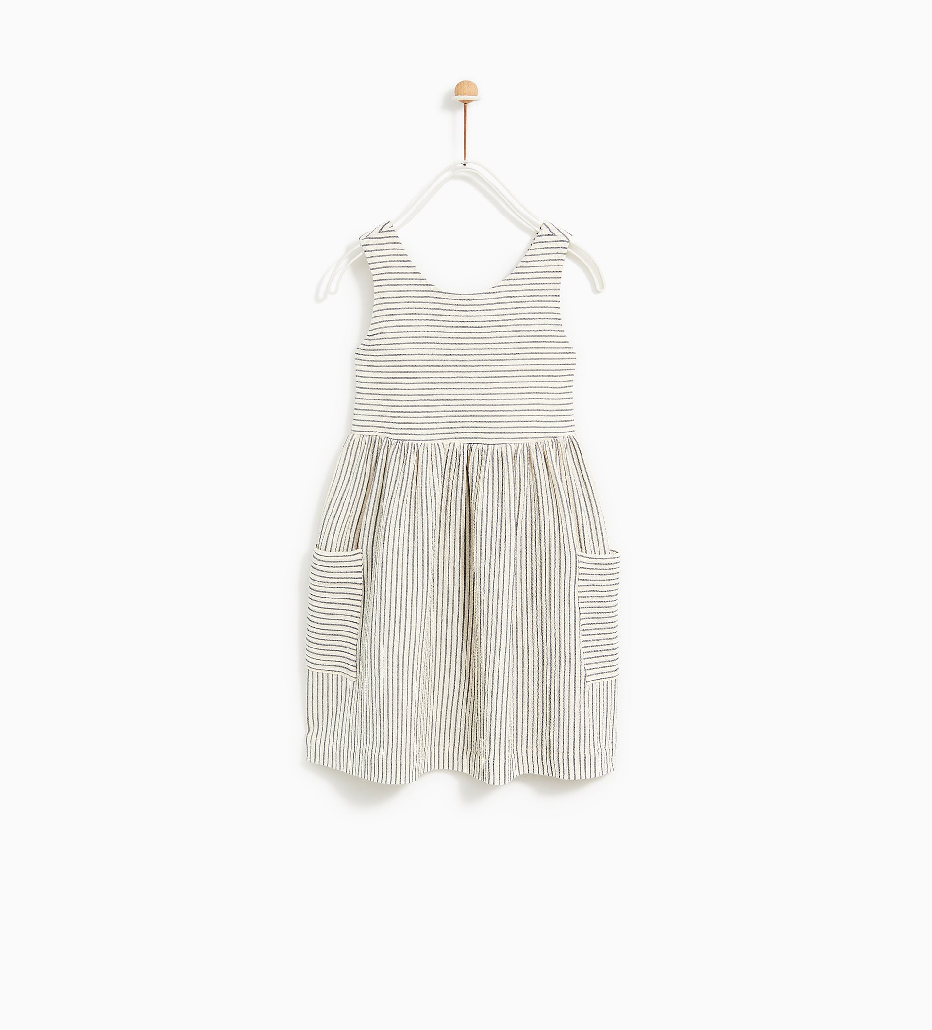 Image 1 of DRESS WITH BACK RIBBON from Zara