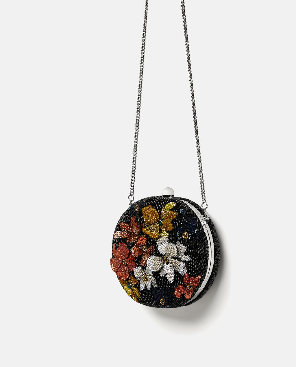 Image 3 of FLORAL MINAUDIÈRE from Zara