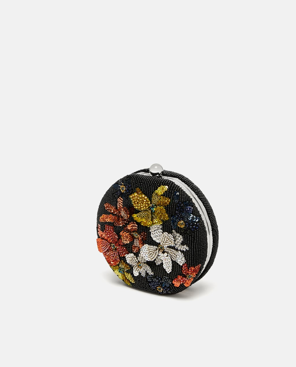 Image 1 of FLORAL MINAUDIÈRE from Zara