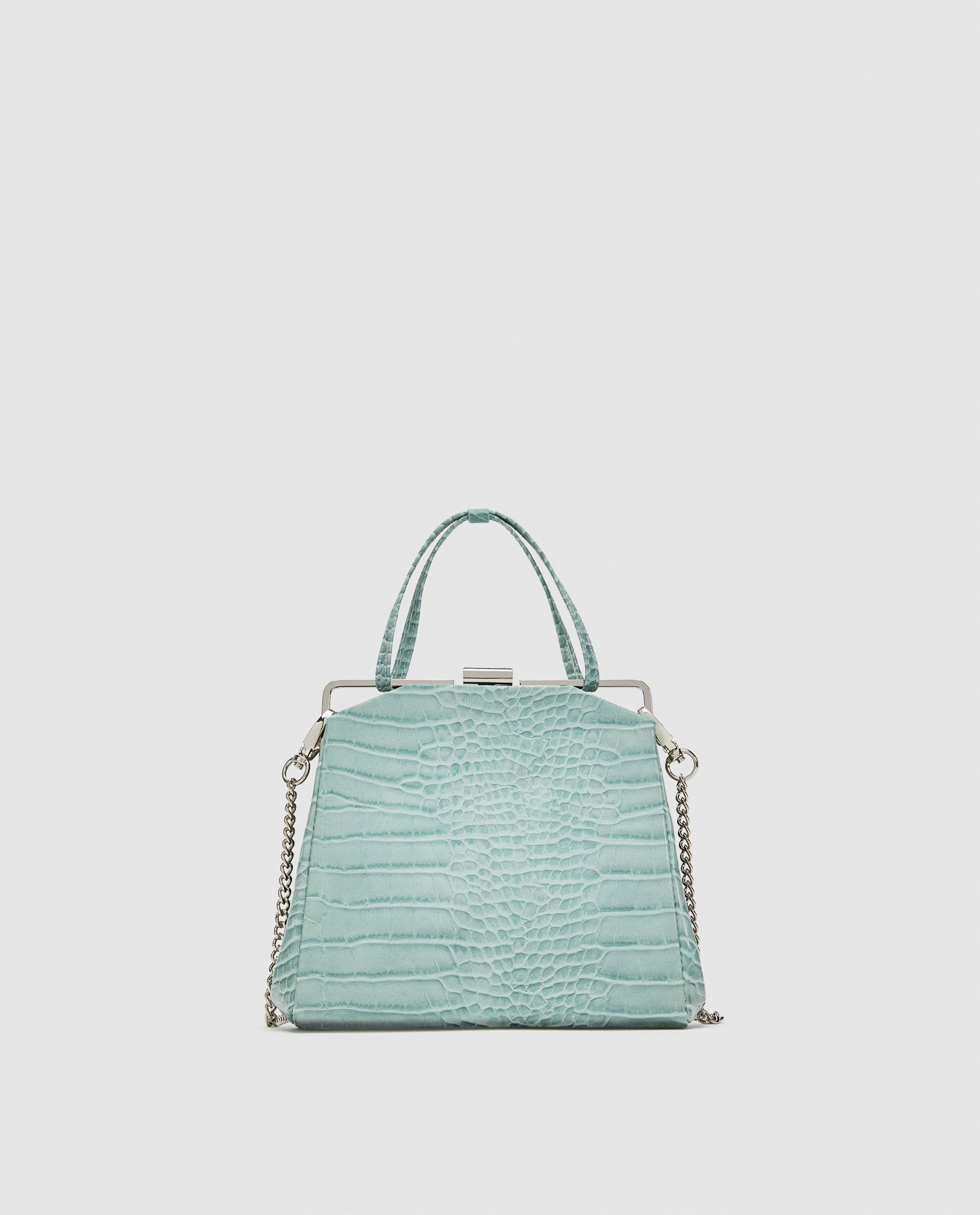 Image 2 of CROSSBODY BAG WITH CLASP FRAME CLOSURE from Zara