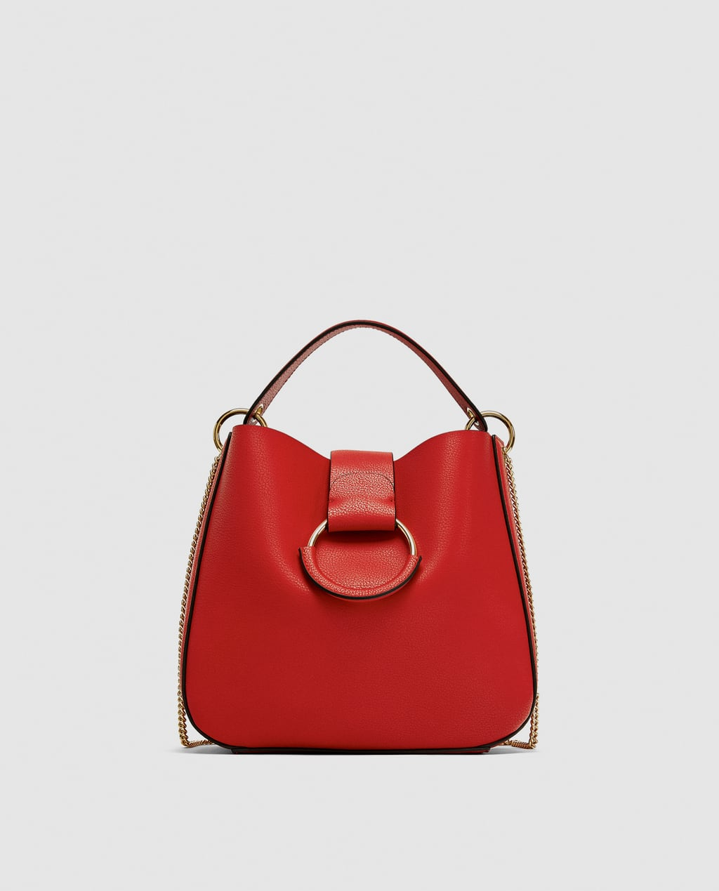 Zara Red handbag