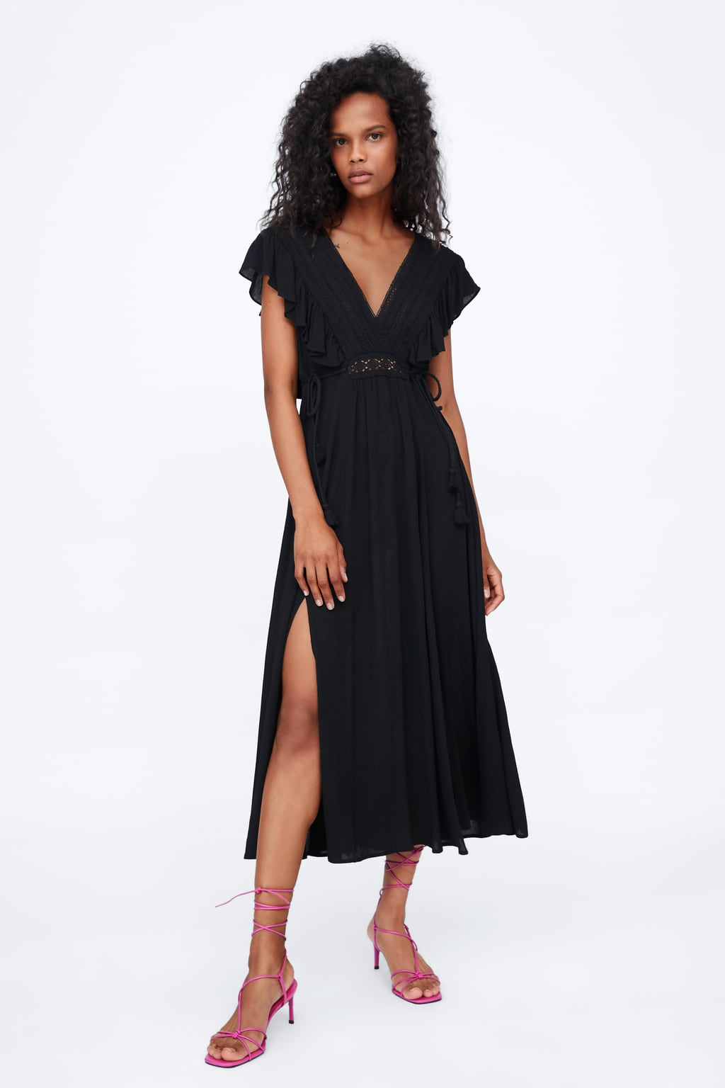 8953aa10a87d Women's Midi Dresses | New Collection Online | ZARA United Kingdom