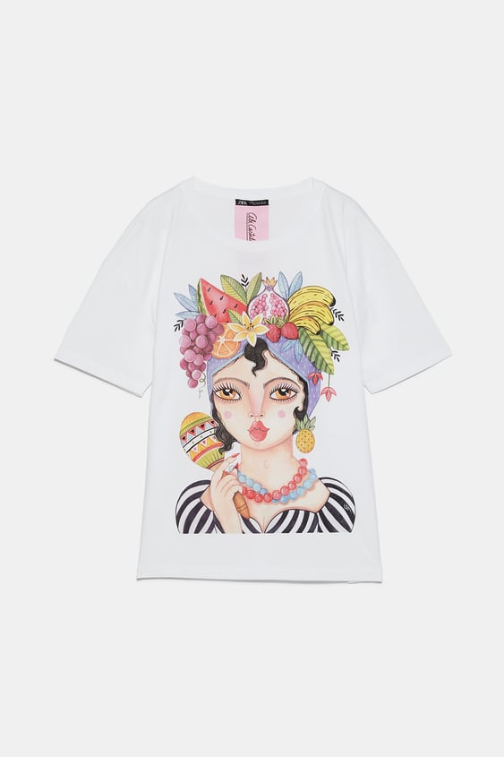 9a03ee09 T-shirts   TRF   New Collection Online   ZARA United Kingdom