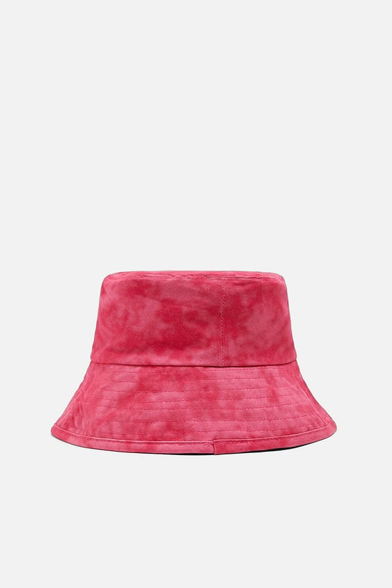 ac03e5bbbf21f WASHED EFFECT BUCKET HAT - Item available in more colors