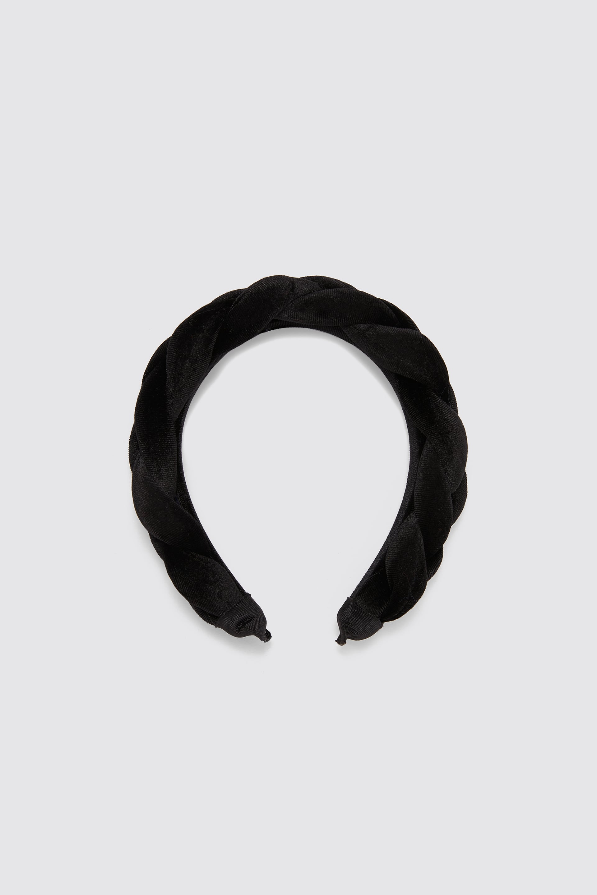 Velvet Woven Headband New Intrf by Zara
