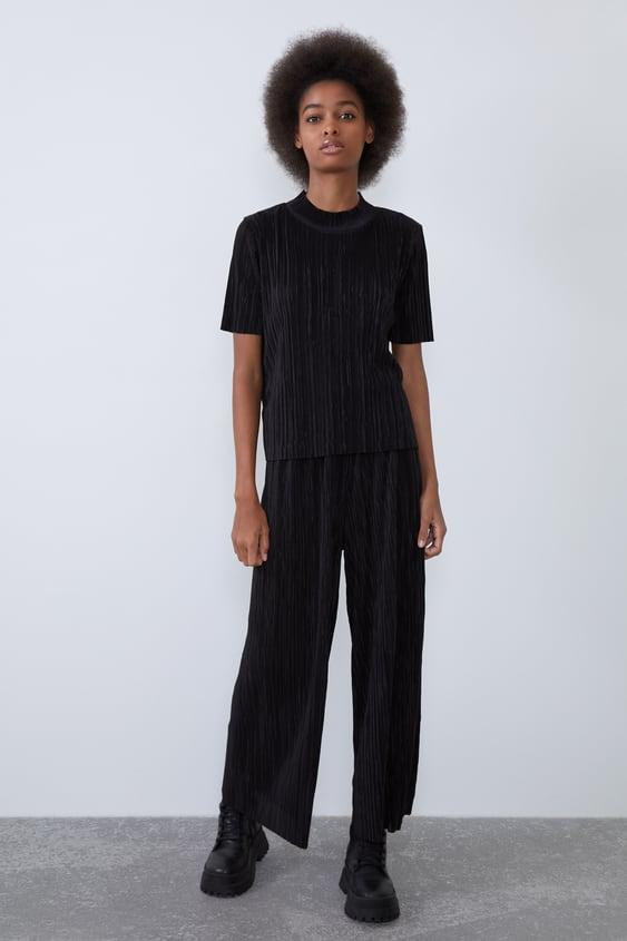 nuovo concetto 6d078 94e31 TRF | Pantaloni da Donna | Nuova Collezione Online | ZARA Italia