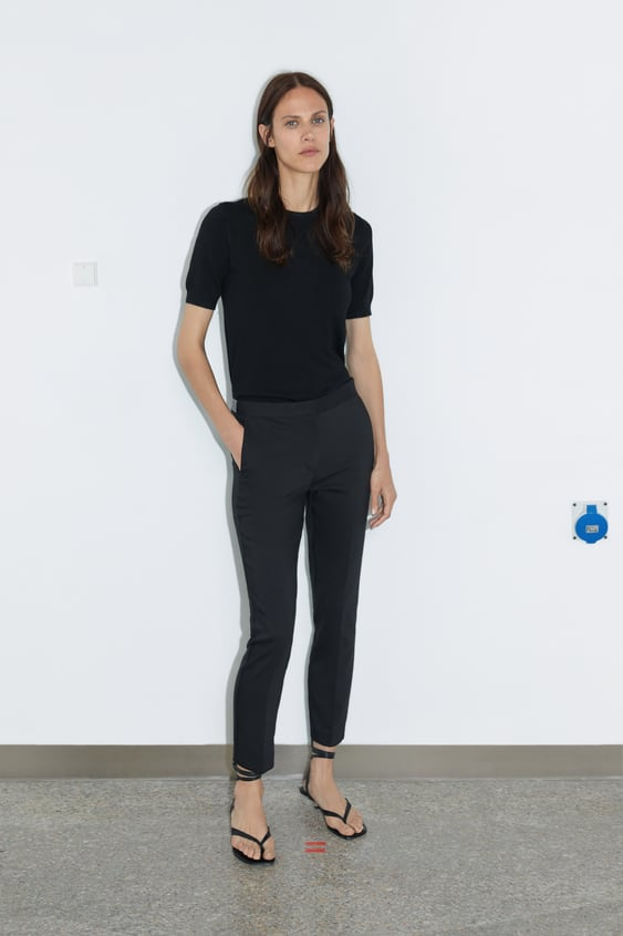 Pants With Elastic Waistband View All Pants Woman by Zara