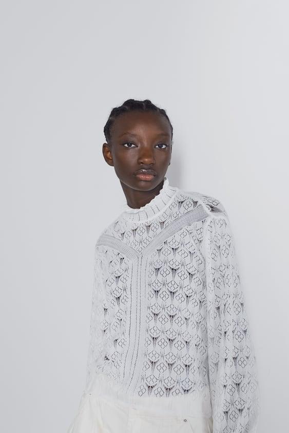7bdbcb05022ae Pulls pour femme | Nouvelle Collection en ligne | ZARA France