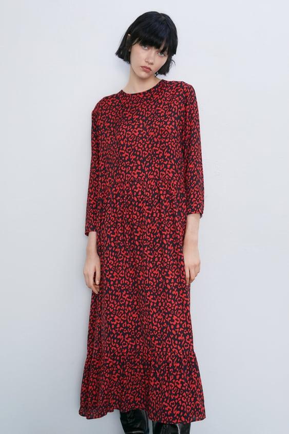 284b65894 Robes mi-longues pour femme | Nouvelle Collection en ligne | ZARA France