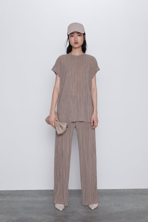Pleated Pants View All Pants Woman by Zara