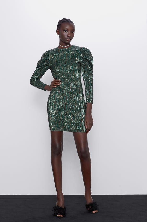 LIMITED EDITION SEQUINNED DRESS