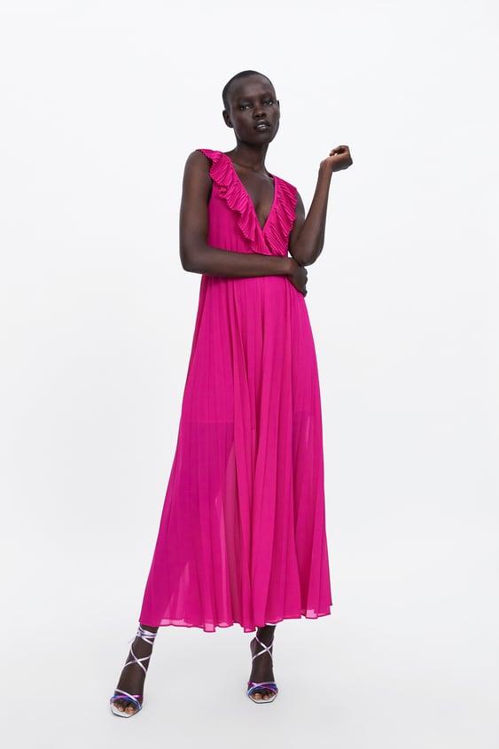 paquete de moda y atractivo venta online mejor online VESTIDO PLISADO