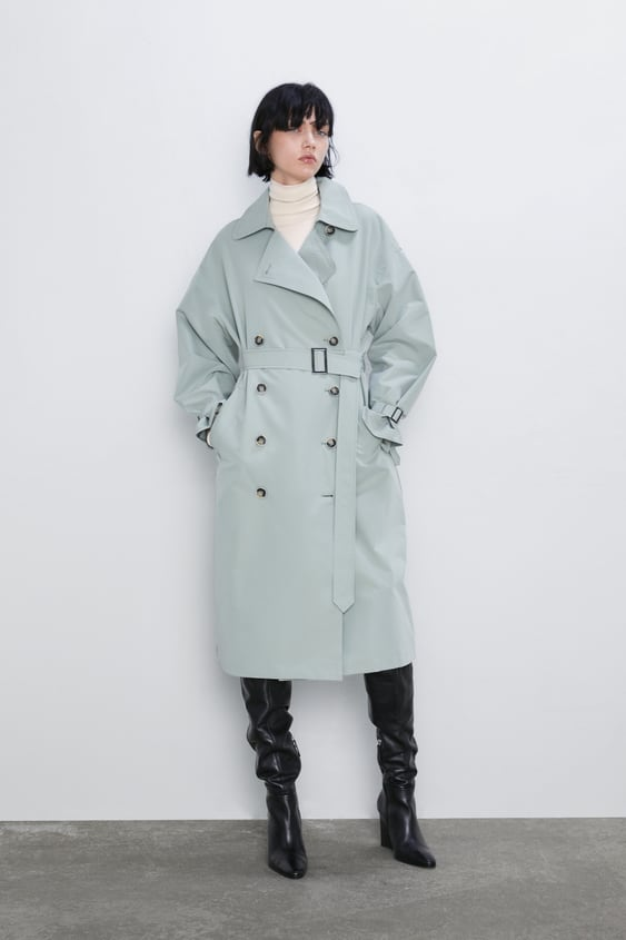 Trench Coat With Belt  New Inwoman by Zara