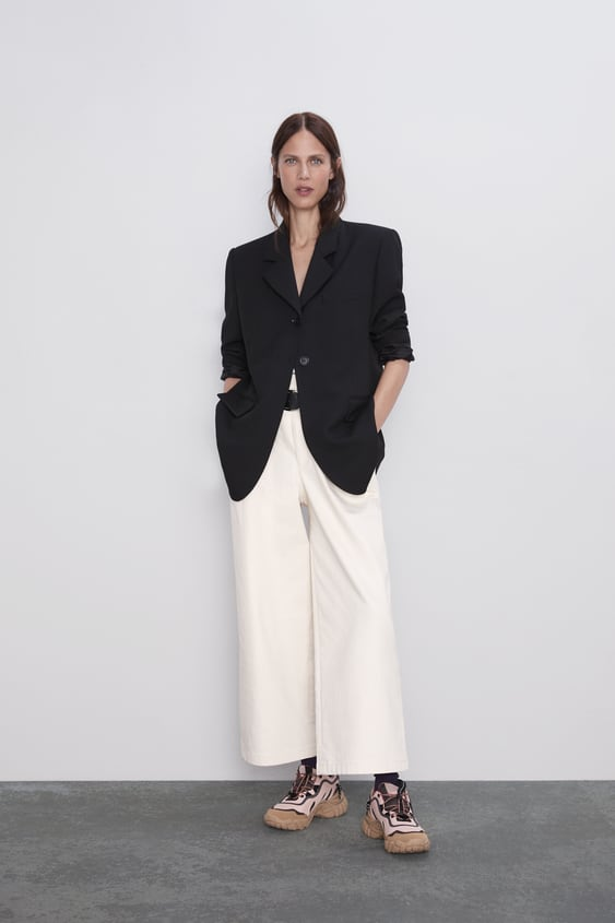 Wide Leg Belted Pants New Inwoman by Zara