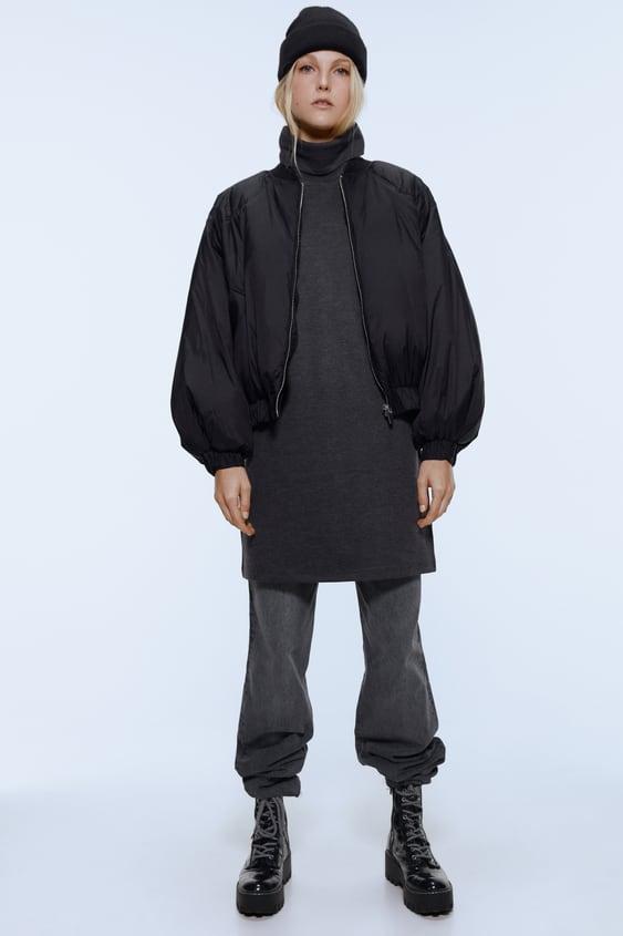 Vestido Cuello Alto