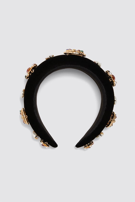 Limited Edition Jewel Headband  New Intrf by Zara