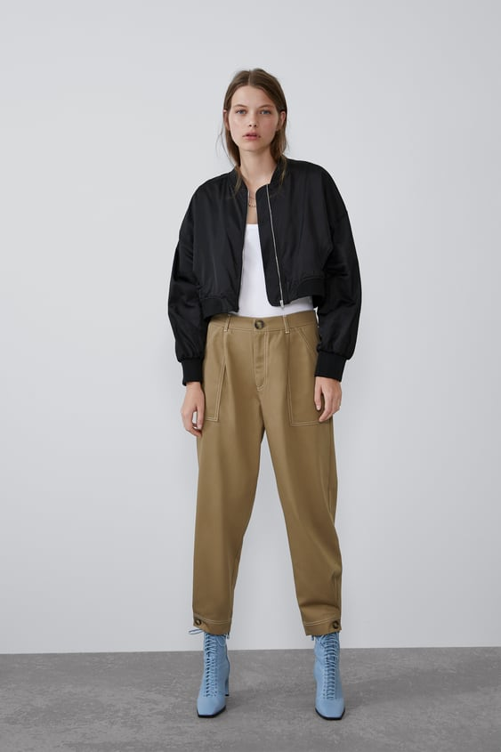 d47a24fb4 Women's Bomber Jackets | New Collection Online | ZARA United States