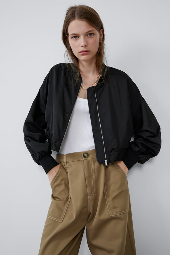 dc69f0a44 Women's Bomber Jackets | New Collection Online | ZARA United States