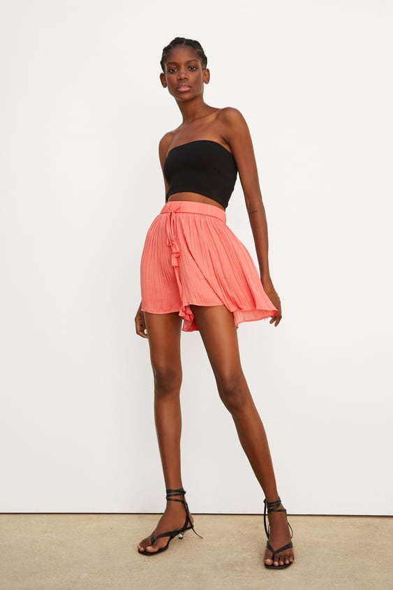 6e99de2627 PLEATED SHORTS - Item available in more colors