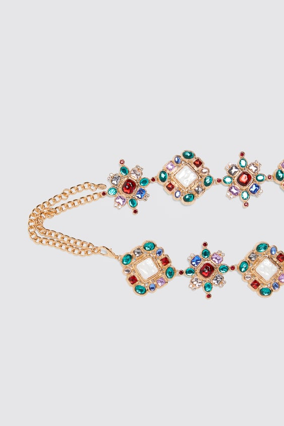 Limited Edition Jewel Belt View All Accessories Woman by Zara