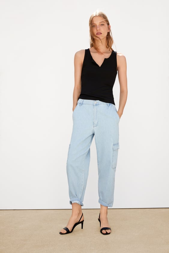 7d427bb33a Sleeveless T-shirts | TRF | New Collection Online | ZARA Italy