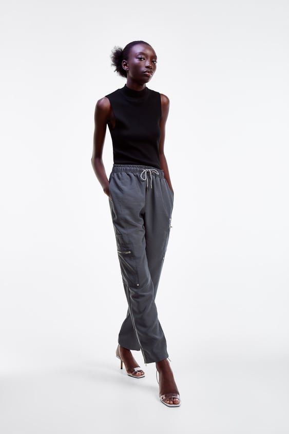 b874be010e5a5 Women's Pants | New Collection Online | ZARA United States