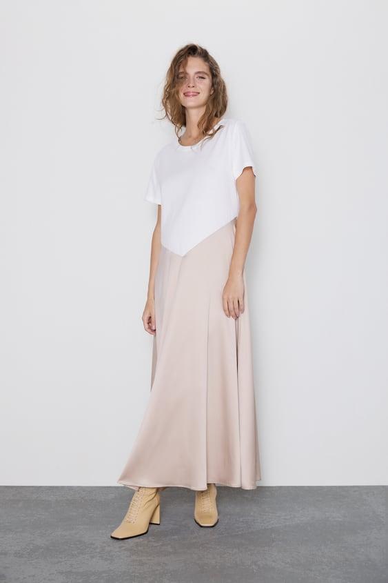 Contrasting Dress Momwoman Cornershops by Zara