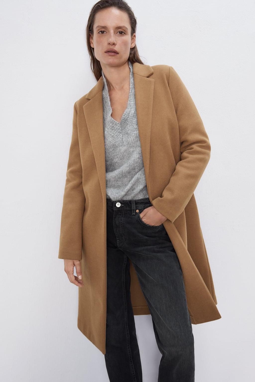Image 2 of BASIC COAT from Zara