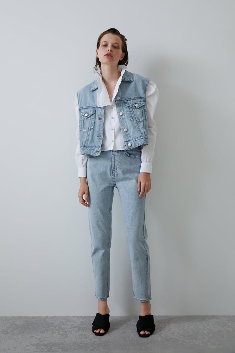 Super Hi Rise Jeans by Zara