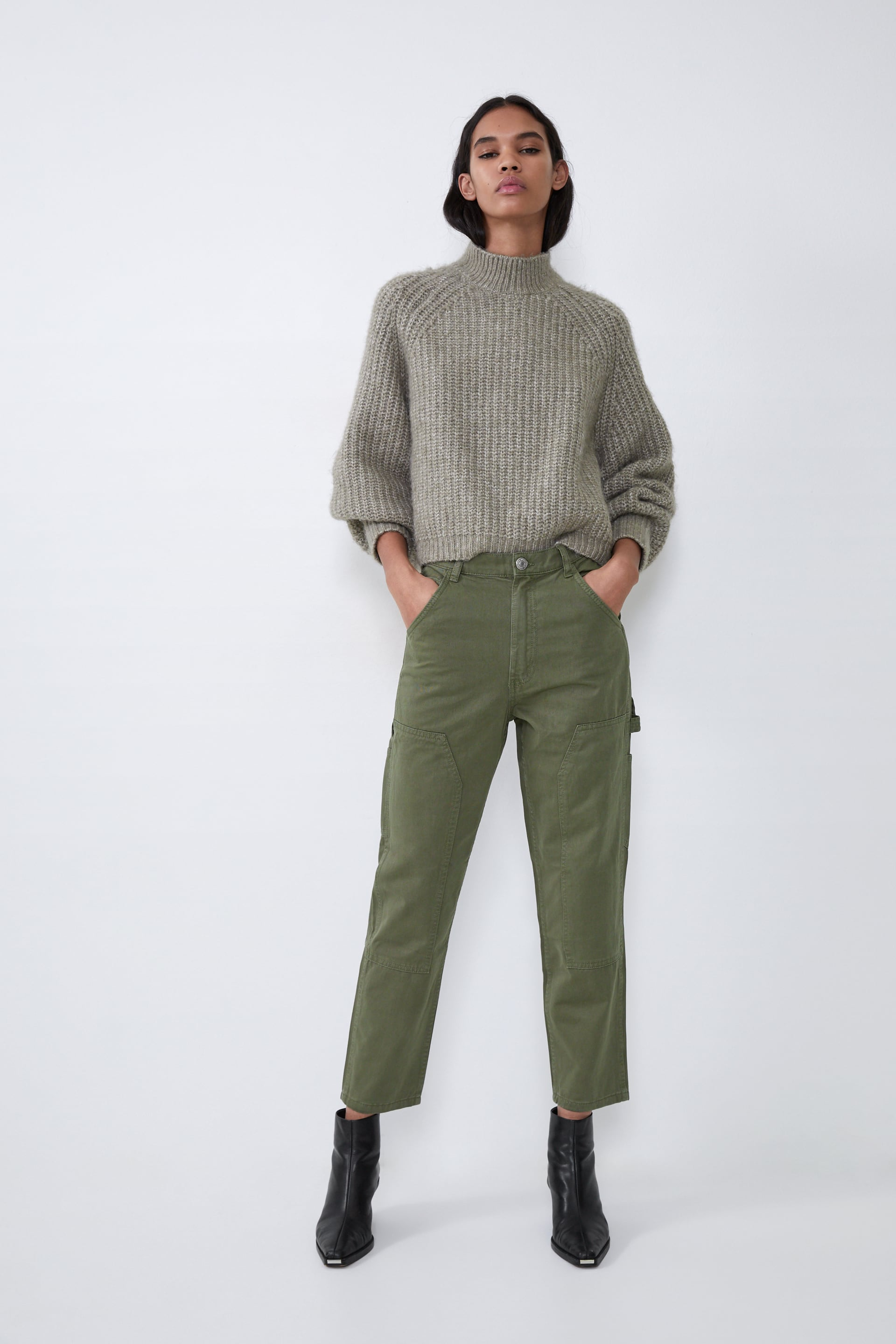 Cargo Pants View All Jeans Woman by Zara