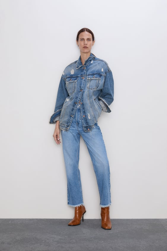 f1a97e6d25 Women's Jeans | New Collection Online | ZARA Spain