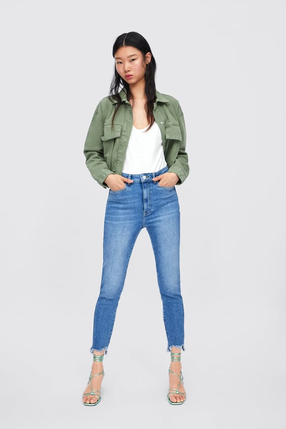 8028c09a Women's High Rise Jeans | New Collection Online | ZARA India