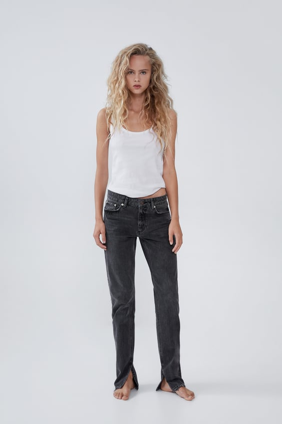 d9b23b7ef6 High Waisted Jeans | TRF | New Collection Online | ZARA United States