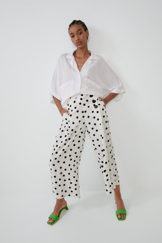 Cropped Trousers  Trouserswoman by Zara