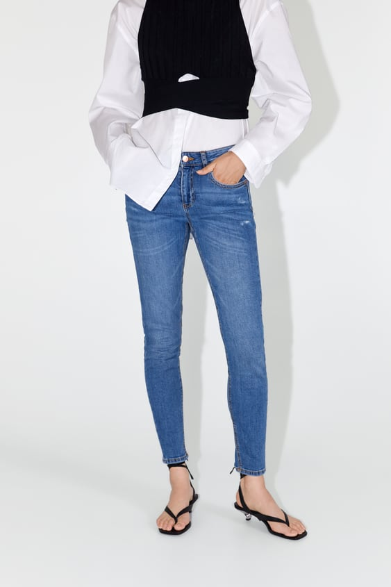 c79b706502cf7 Women's Skinny Jeans | New Collection Online | ZARA United States