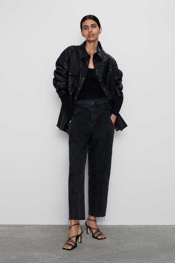 Z1975 Straight Leg Jeans  New Inwoman by Zara